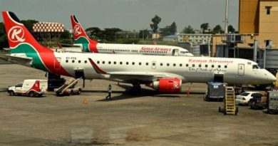 The Kenya Airways flight had to be cancelled because of the joke gone wrong