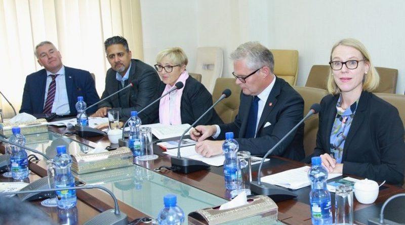 FM Gedu Meets with Members of Norwegian Parliament