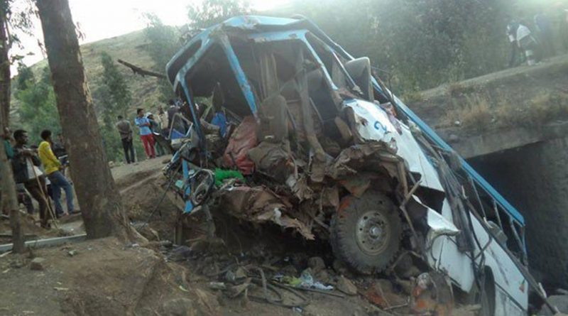 Three Died, 17 Injured in Car Accident in Southern Ethiopia