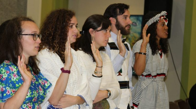 23 New Peace Corps Volunteers Swear- in at U.S. Embassy