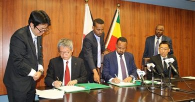 Japan Supports Addis Abeba's Road Maintenance Effort