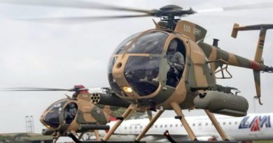 U.S. Delivers MD-530F Helicopters to Kenya Defense Force