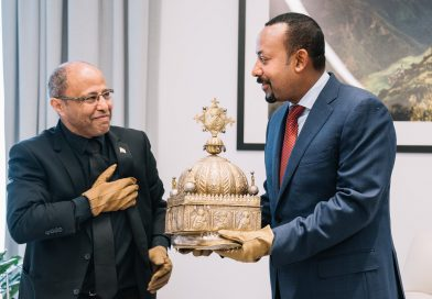 Ethiopian Crown Returns Home after 21 year in Europe