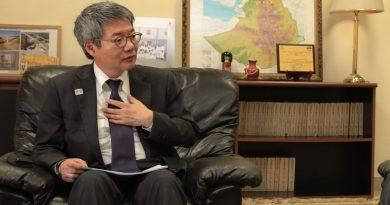 Japanese Ambassador to Ethiopia Matsunaga