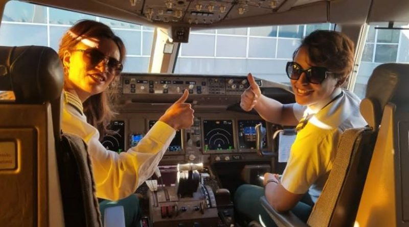 For Six Consecutive Times, Ethiopian All-women Flight Marks March 8