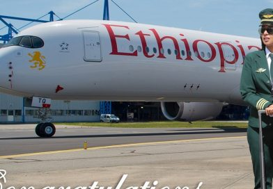 Kalkidan Becomes First Ethiopian Captain of Airbus A350