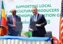 USAID, Ethiopian Partner to Source Food from Local Farmers for In-Flight Meals